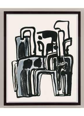 Reflections No.1- 23''x 29''-Unframed - ddeditions.com
