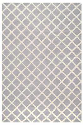 HEMSWORTH AREA RUG - SILVER/IVORY, 8' x 10' - Home Decorators