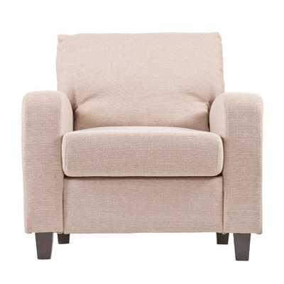 Adeline Arm Chair - Beige Oyster - Wayfair