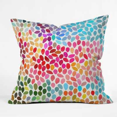 "Garmina Throw Pillow - 18"" x 18""; Polyester/Polyfill - Wayfair"