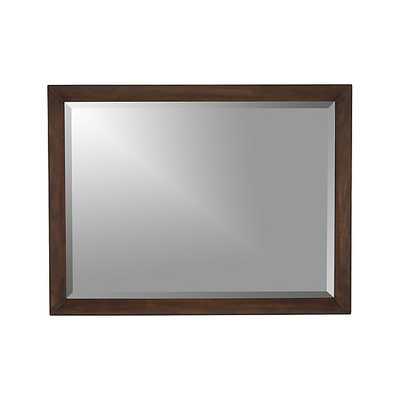 Morris Rectangular Wall Mirror - Crate and Barrel