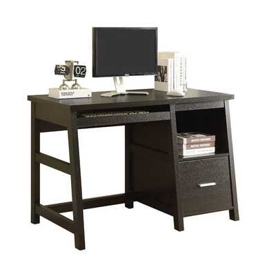 Computer Desk with Storage Drawer - AllModern