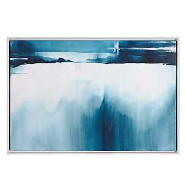 Moment In Space - 25.5''W x 37.5''H - Matte white frame- no mat - Z Gallerie