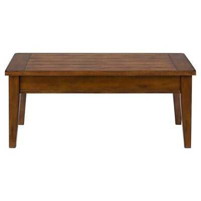 Dunbar Lift Top Cocktail Table - Medium Brown - Target