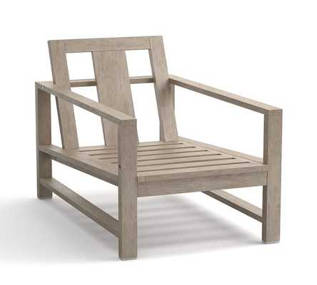 Indio Occasional Chair Frame - Pottery Barn