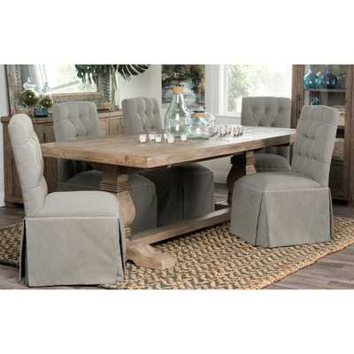 """Kosas Home Kasey 94"""" Dining Table - Overstock"""