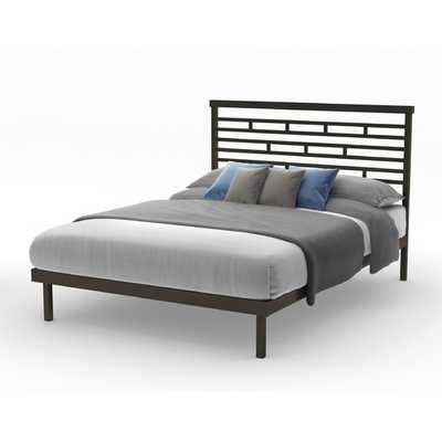 HighWay Slat Panel Bed - Cobrizo - Queen - AllModern
