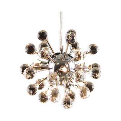 Modern 6 Light Crystal Chandelier - Wayfair