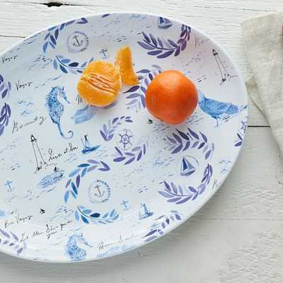 Collector's Editions Plates -  Blue Nautical - West Elm