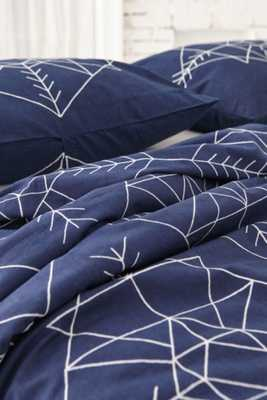Magical Thinking Archery Arrows Duvet Cover - Queen, Navy - Urban Outfitters