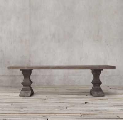 DUMONT RECTANGULAR DINING TABLE - RH