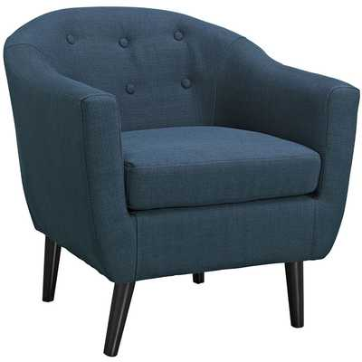 WIT ARMCHAIR IN AZURE - Modway Furniture