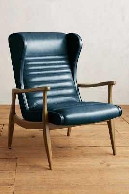 Premium Leather Roadway Chair - Anthropologie