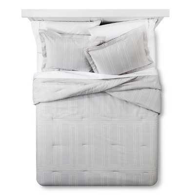 "Dotted Stripe Comforter and Sham Set - Nate Berkusâ""¢ - full/queen - Target"