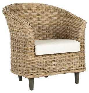 Eleanor Barrel Chair - One Kings Lane