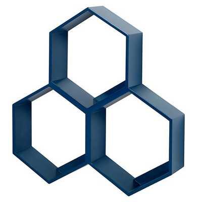 Honeycomb Wall Shelf - Land of Nod