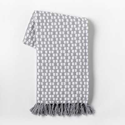 Loose Stitch Woven Throw - West Elm