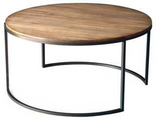 Taylor Round Coffee Table - One Kings Lane