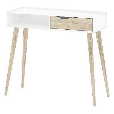 Tvilum Delta Desk with Drawer - White - Target
