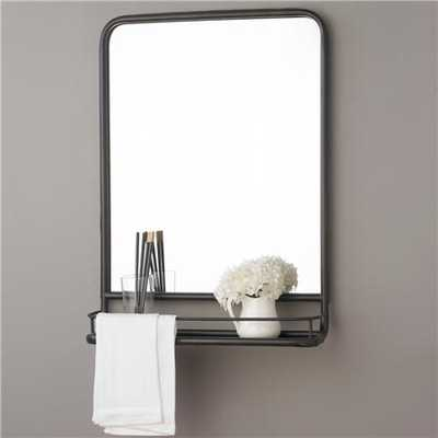 Metal Mirror with Shelf - Small - shadesoflight.com