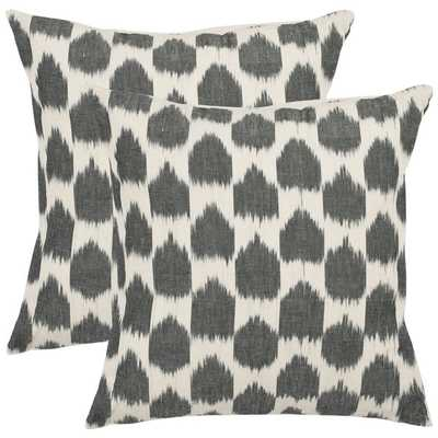 """Safavieh Moments 18"""" Decorative Pillows (Set of 2) - Polyester fill - Overstock"""