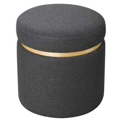 "Room Essentialsâ""¢ Storage Ottoman - Grey - Target"