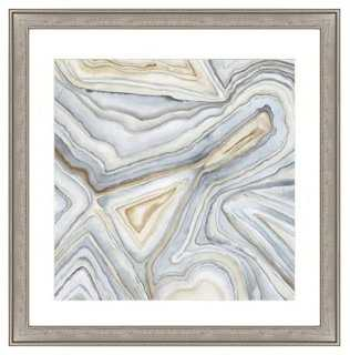 "Agate Abstract I - 26"" x 26"" - Framed - One Kings Lane"