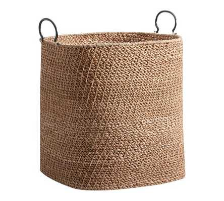 Light Twist and Knot Baskets - Extra Large - Pottery Barn