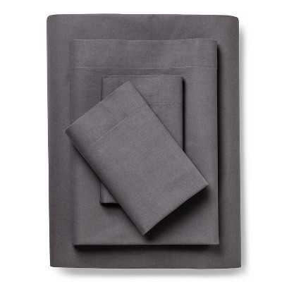 Vintage Washed Sheet Set - Radiant Gray, Full - Target