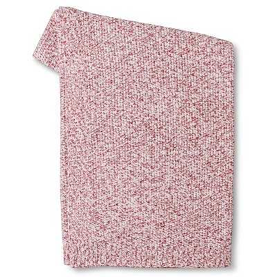 "Threshold â""¢ Marled Sweater Knit Throw Blanket - Target"