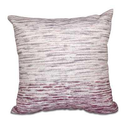 Sylvania Ocean View Geometric Print Throw Pillow - 18x18 -  With Insert - Purple - Wayfair