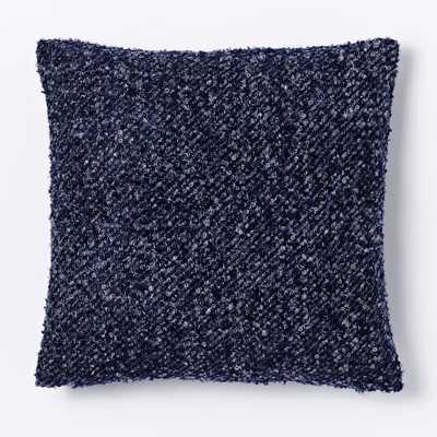 """Heathered Boucle Pillow Cover - 18"""" x 18"""" - Insert Sold Separately - West Elm"""