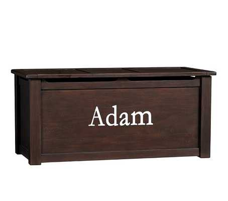 Ultimate Toy Chest, Chocolate - Pottery Barn Kids