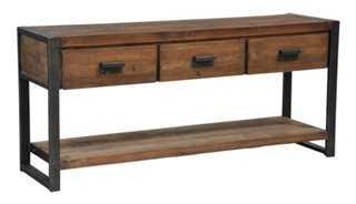 Maya 3-Drawer Console Table - One Kings Lane