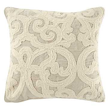 Remy Pillow - 18''W x 18''H - Feather/Down insert included - Z Gallerie