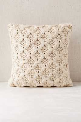 Chunky Cotton Knit Pillow - Urban Outfitters