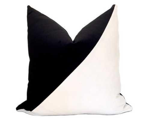 """Slash Velvet Pillow Cover 18"""" x 18"""" - insert sold separately - Etsy"""