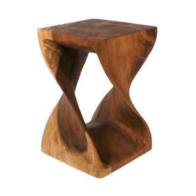Strata Furniture Twist End Table - Wayfair