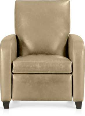 Royce Leather Recliner - Crate and Barrel