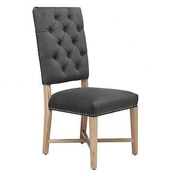 Rencourt Side Chair - Bella Otter - Z Gallerie