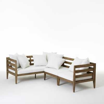 Jardine Sectional - Set 1 (1 Daybed, 1 Corner, 1 Single) - West Elm