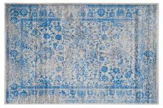 Ajax Rug, Gray/Blue - 8' x 10' - One Kings Lane