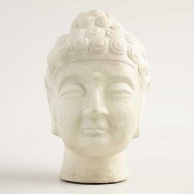 Medium Paper Mache Buddha Head - World Market/Cost Plus