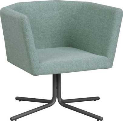 Facetta cyan chair - CB2
