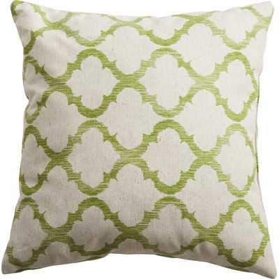 """Linen Throw Pillow - Palm  17"""" Square, insert included - Wayfair"""