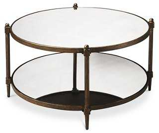 Abigail Coffee Table, Aged Bronze - One Kings Lane