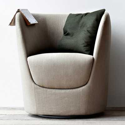 Oplà Swiveling Arm Chair - AllModern