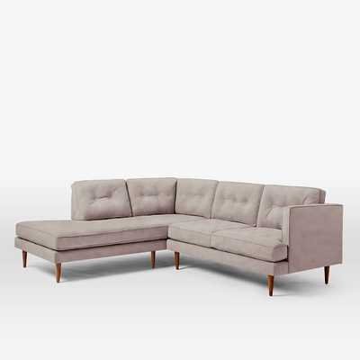 Peggy Mid-Century Terminal Chaise Sectional - West Elm