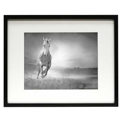 "16""x20"" matted for 11""x14"" Gallery Frame - black - Target"