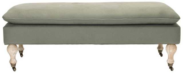 Hampton Pillowtop Bench - Tressle